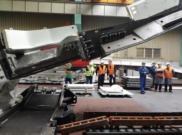 Приемка забойно-транспортного оборудования для шахты «Осинниковская»