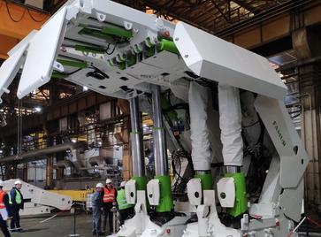 Приемка прототипов секций крепи для шахты «Алардинская»
