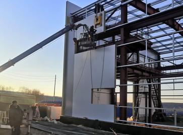 Продолжается строительство сервисного центра ООО «Польские машины» в г. Нерюнгри, Республика Саха (Якутия)